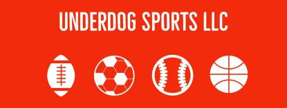 New Underdog Sports Logo